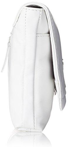 Gerry Weber Piacenza Clutch, Pochette donna Bianco (Bianco)