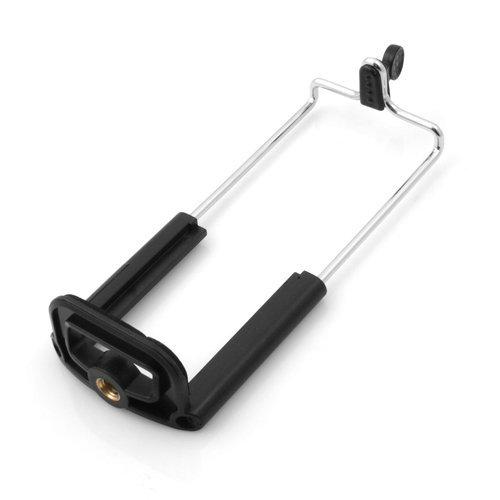 System-S Stativadapter Aufsatz mit Gewinde Halterung Halter Tripod Stativ Adapter Schrauben Klemm Adapter für Tablet PC Phablet 160-188 mm