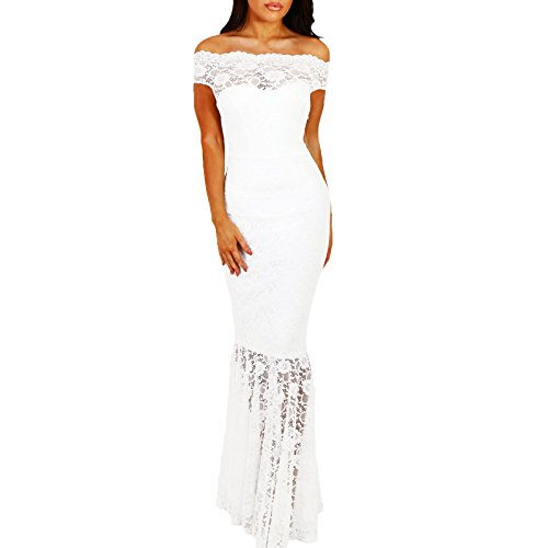 Toocool - Robe - Colonne - Femme Bianco