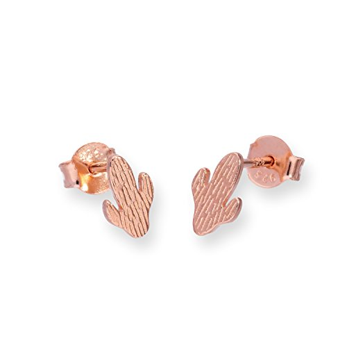18ct-rose-gold-dipped-sterling-silver-cactus-stud-earrings