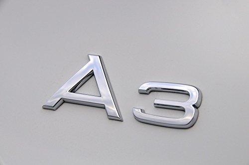 A3 emblème logo Audi pour coffre insigne badge chromé