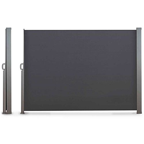 Paravent rétractable 1.6x3m anthracite