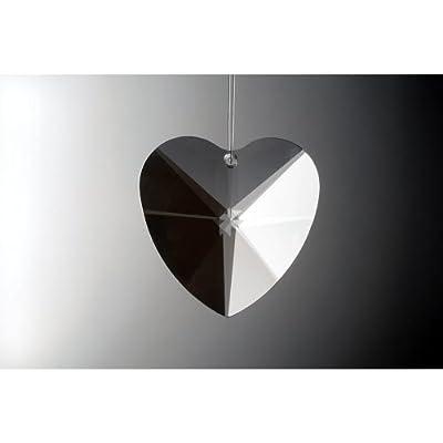 HAB & GUT© (G4114-50) Kristall Herz 50 mm Sonnenschliff - Premium-Qualität von Hab & Gut bei Lampenhans.de