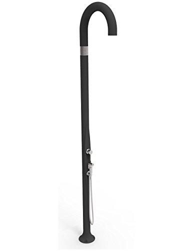 Dusche Traditionell Außenbeleuchtung Garten Mischbatterie und Handbrause Mobile Arkema Funny Yin anthrazit | Garten > Garten-Duschen | Polyethylen | Arkema Design