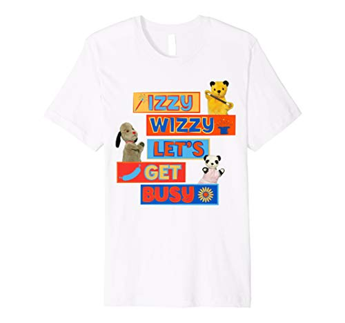 The Sooty Show Izzy Wizzy Let's Get Busy T-Shirt