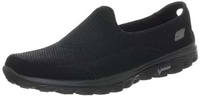 Skechers Performance Women's Go Walk 2 Slip-On Walking Shoe,Black,6 M US