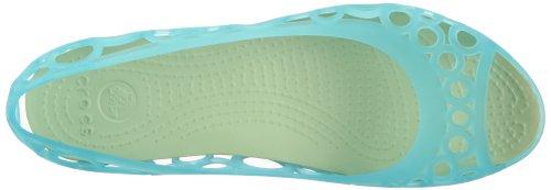 crocs Adrina Flat 11238, Ballerines femme Bleu (Aqua/Celery)