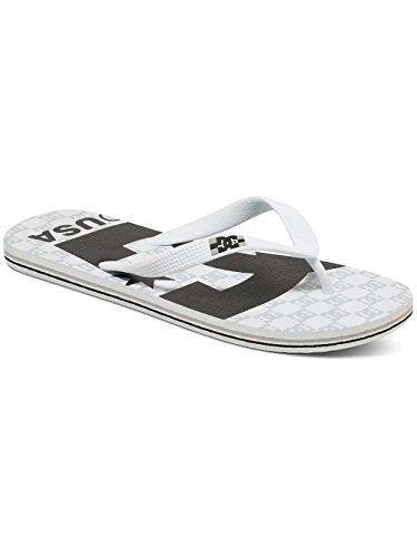 DC Shoes SPRAY GRAFFIK D0303276 Herren Zehentrenner Blanc - White/Black/White zXd00d0Mme