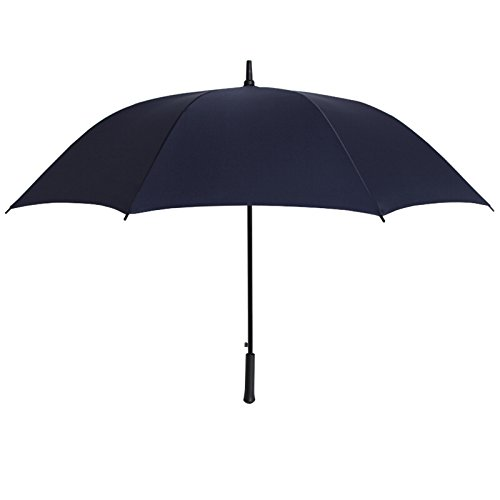Shoe rack LUYIASI- Regenschirm-Supergroßer Regenschirm-verstärkter Regenschirm-starker wasserabweisender gerader Regenschirm-Männer Geschäfts-Regenschirm (Farbe : Blau)