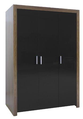 Milano 3-Door Full Hanging Wardrobe