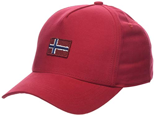 Napapijri Herren Flagstaff True RED Baskenmütze, Rot R70, One Size...