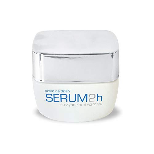 Genoscope - Creme mit Kolostrum für Tag SERUM2h, Anti-Falten, mit Wachstumsfaktoren für alle Hauttypen 50ml