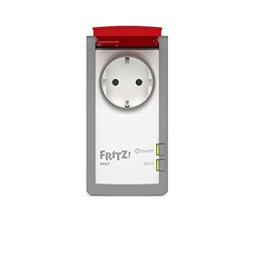 AVM FRITZ!DECT 210 (intelligente Steckdose für Smart Home, mit Spritzwasserschutz (IP 44) für Einsatz im Außenbereich) - 2