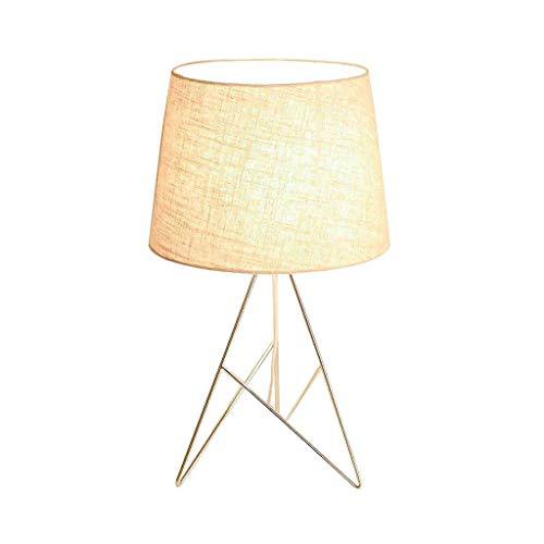 Lampes de table modernes en fer, Nordic LED Noir/Blanc Éclairage Lampe de table de chevet Moderne Salon minimaliste Étude de lecture Bureau Lumière Mode Chambre Chambre Fond Lumière