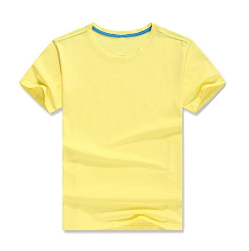 LemonGirl Herren Fashion Kurzarm Crewneck Baumwolle T-Shirt