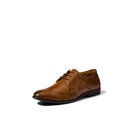 Centrino Men's Coffee Formal Shoes-9 UK/India (43 EU)(1206-01)
