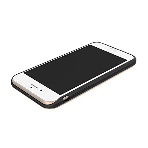 iPhone 6 / iPhone 6S Coque Batterie Étui 2600mAh Ultra Mince External Rechargeable de Chargeur Portable de Secours Externe Chargeur Housse Power Case Prolonger de Protection pour iPhone 6 / iPhone 6S d'or