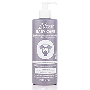 E'lifexir Baby Care | Leche Corporal Hidratante | Hipoalergénica y Natural | 400 ml