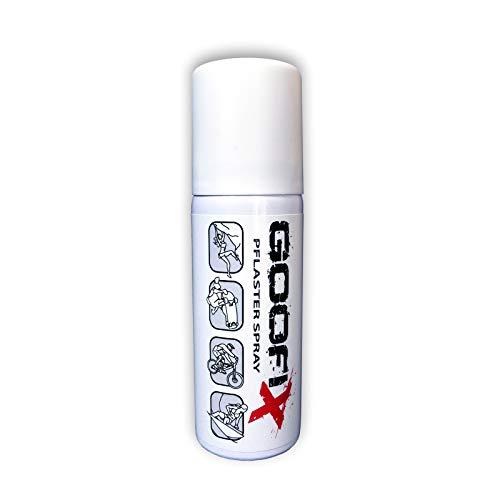 GOOFIX Pflaster Spray - Sprühpflaster: wasserfest, flexibel, atmungsaktiv, 50 ml