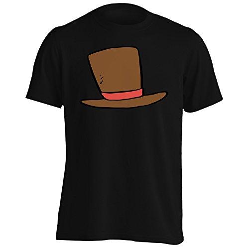 Nuova Animazione Comica Del Cappello Uomo T-shirt l791m Black