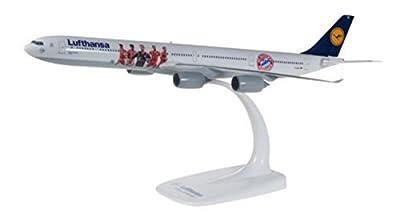 Herpa 611763 Lufthansa Airbus A340-600 FC Bayern Audi Summer Tour China von Herpa Miniaturmodelle