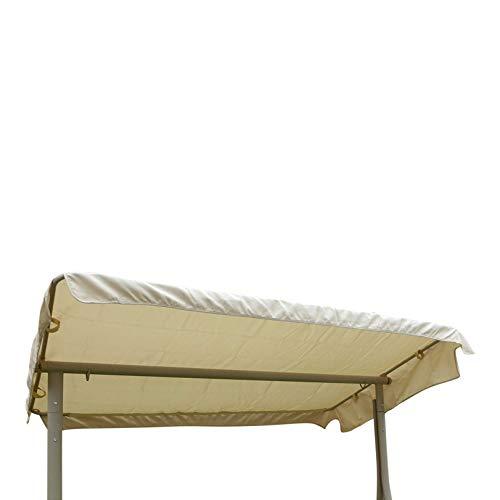 UK-Jardins Crème Beige Canopy de remplacement pour 3 Seat jardin Swingseat hamac - Couverture de rechange