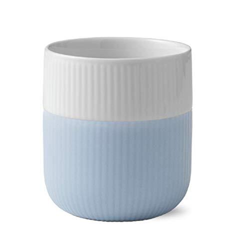 Royal Copenhagen Fluted Contrast Mug - Dove Blue 33cl Royal Becher