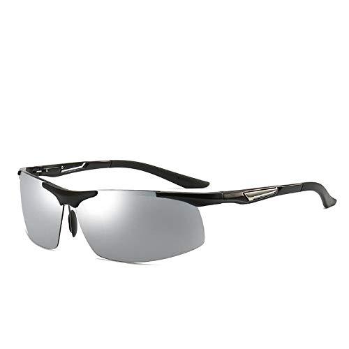Yiph-Sunglass Sonnenbrillen Mode Mit gao qingfang uv Sonnenbrille Sport Sonnenbrille Radfahren Brille Radfahren polarisierende abblendspiegel licht Fahrer Augen männer Sonnenbrille (Farbe : Schwarz)