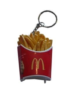 Porte-clé en forme de cornet de frites McDonalds