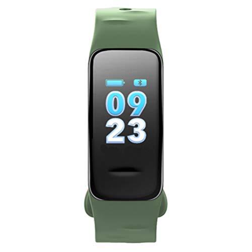 Fitness Tracker Aktivitätstracker Herzfrequenz Blutdruck Monitor Fitness Armband Farb Touchscreen Fitness Uhr Bluetooth Schrittzähler Schlafmonitor IP67 wasserdicht Smart Uhr für Kinder Frauen Männer