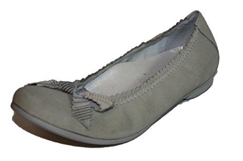 Cherie Kinder Schuhe Mädchen Ballerinas 7735 (ohne Karton) Grau