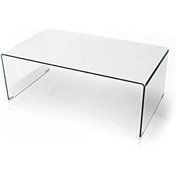 moebel-eins REGINA Couchtisch Glas/Füße Buche 110x45 cm: Amazon.de ...