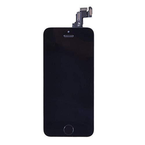 LL Trader Écran de remplacement pour iPhone 5C Noir Écran tactile écran LCD numérique de verre Objectif de réparation montage de Nouveau (Y Compris Outils et bouton home)