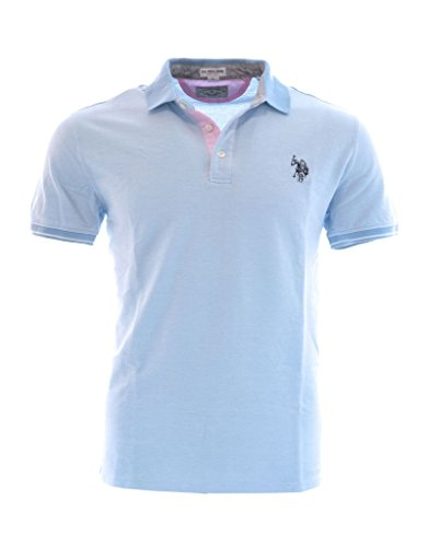 us-polo-association-herren-poloshirt-blau-hellblau-l