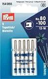 Nähmaschinennadeln 130/705 Topstitch Metallic sortiert 80-100