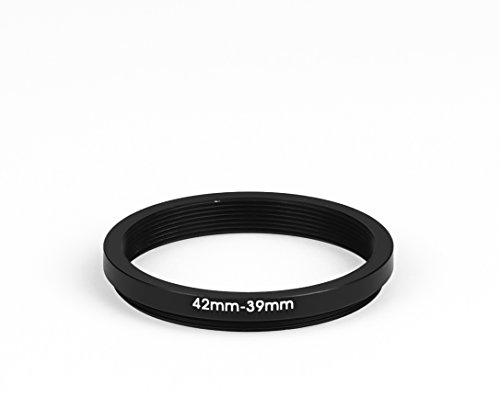42 mm - 39 mm Filter Adapter Step-Down Adapter Filteradapter Step Down 42-39 39mm-adapter