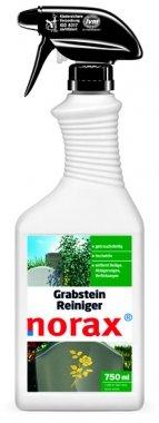 norax Grabstein Reiniger 750 ml - Entfernt hartnäckige Verschmutzungen, dunkle und grüne Beläge, Ablagerungen, sowie Verfärbungen