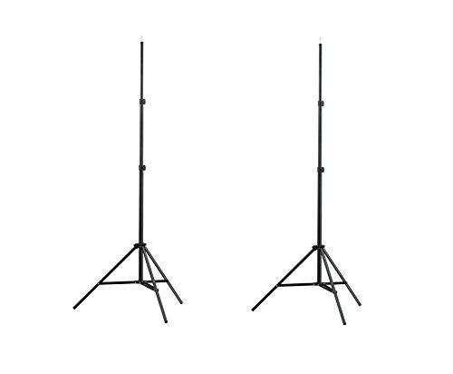 vidaXL 2 x Fotostativ Stativ Lampenstativ Blitzstativ Kamerastativ bis max.210cm