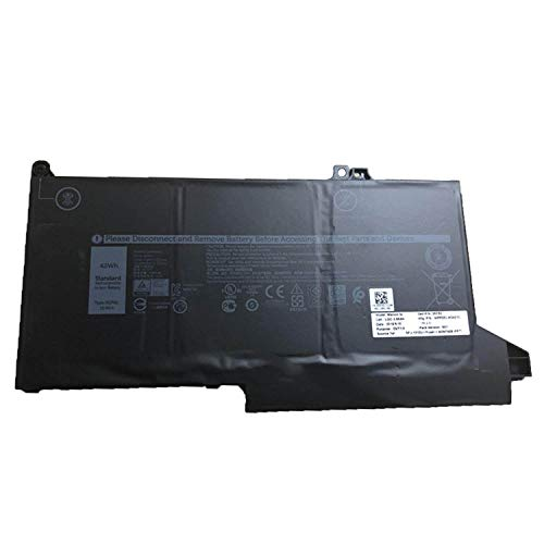 3500 Serie Notebook Laptop (Hubei 11.4V 42Wh 3500mAh 0G74G OG74G DJ1J0 kompatibler Laptop Akku mit Dell Latitude 7000 E7280 E7380 E7480 Notebook Serie DJ1J0 OG74G)