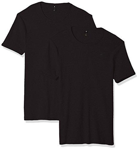 G-STAR RAW Herren Basic T-Shirt 2-Pack