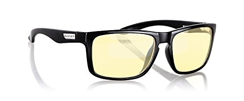 Gunnar Intercept Onyx Lunettes anti-fatigue visuelle Noir