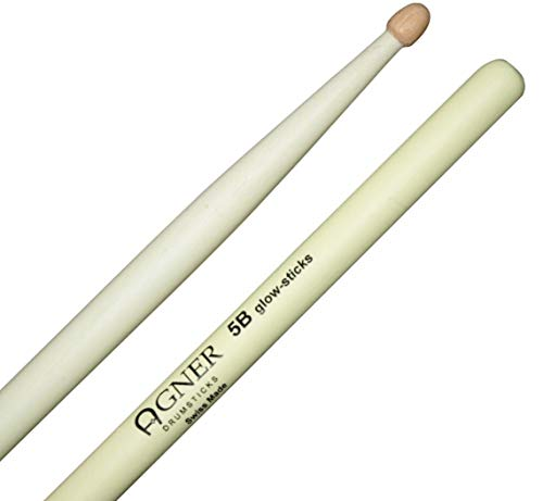 Agner Drumsticks 5B UV Glow Sticks Leuchtend (Preise Stick Glow)