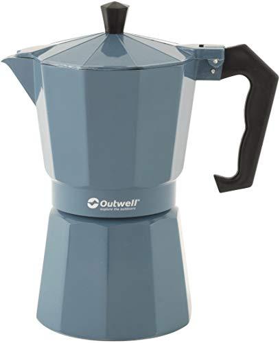 Outwell Espressokocher Manley L 0,3 Liter Aluminium blau