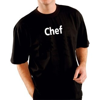 nextday-catering-a669-m-fruit-of-the-loom-camiseta-de-chef-tamano-m-color-negro