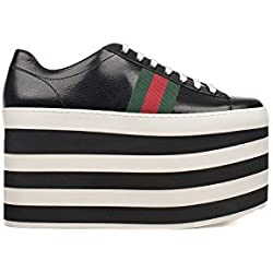 GUCCI SNEAKERS DONNA 452312D3VN01060 PELLE NERO
