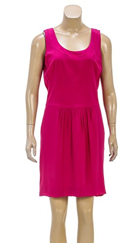 akris-punto-pink-silk-sleeveless-drop-waist-dress-size-8