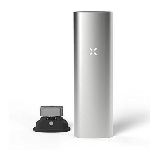 Pax | PAX 3 - Premium Tragbare Vaporizer - für Blätter & Extrakte - 10 Jahre Herstellergarantie - Neue Farbe - Complete Kit - Matt Silber