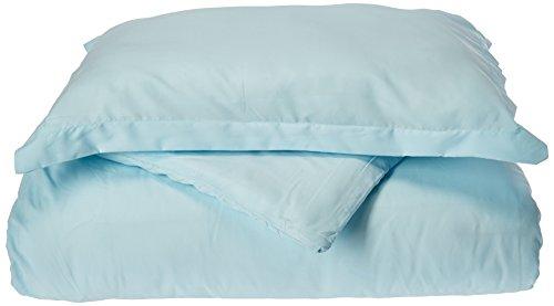 Eleganten Komfort 1500Fadenzahl Ägyptische Qualität Super Weich knitterfreies 3-teilig Bettbezug Set, aqua, Full/Queen Duvet Set (Aqua-duvet-set)
