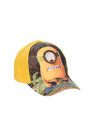 Minions Baseball Cap (4064) Cappy für Jungen und Mädchen, Kappe mit ICH einfach unverbesserlich Minions Motiven, gelb, Kopfumfang: 52 cm