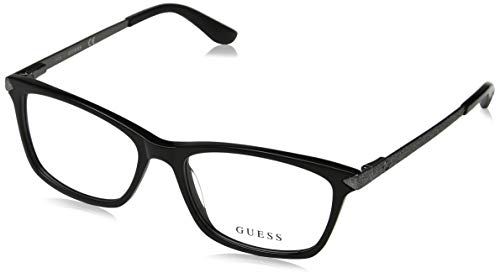 Guess Unisex-Erwachsene GU2654 005 53 Brillengestelle, Schwarz (Nero), (Herren Guess Brillengestelle)